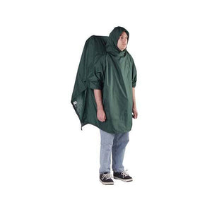Regular Backpacker Poncho Green