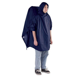 Regular Backpacker Poncho Navy