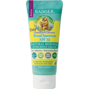 WS Badger Balm SPF 30 Baby Sunscreen