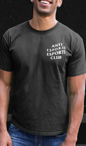 Anti E.S.P.O.R.T.S. Esports Club T-Shirt
