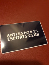 Load image into Gallery viewer, Anti E.S.P.O.R.T.S. Esports Club T-Shirt
