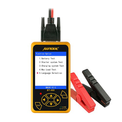 AUTOOL BT460 Battery Tester Lead-acid AGM GEL Battery Cell Analyzer for 12V Vehicle 24V Heavy Duty