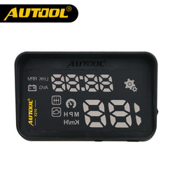 AUTOOL X210 Auto Car Head-Up Display Projector OBD II Vehicle Speeding Warning MPH/KM/h