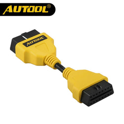 AUTOOL OBD2 16PIN 1 to 3 Splitter Extension Cable Diagnostic Connector 50cm