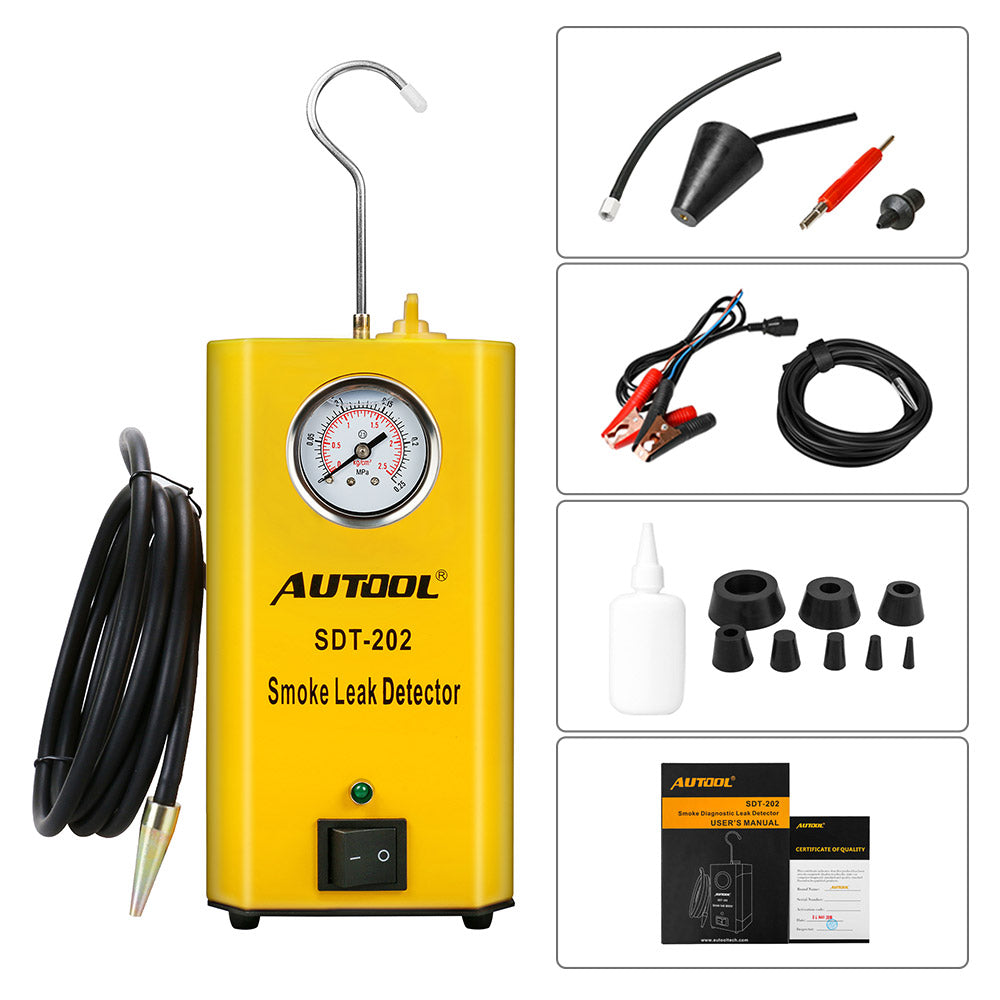 Autool Sdt 202 Car Smoke Machines Leak Locator Automotive Diagnostic Alarm Panel Wiring Diagram L Store