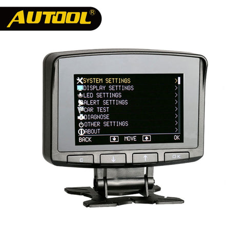 AUTOOL X50 PRO Car Computer Multifunction Digital OBD Meter Speed Alarm Auto HUD Electronic Monitor