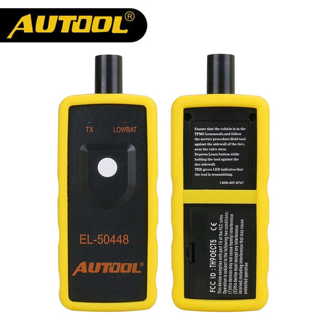 AUTOOL EL-50448 Auto Tire Tool OEC-T5 TPMS Reset Tool For G-M 315MHZ and 433MHz Pressure Monitor