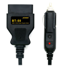 AUTOOL BT-50 OBD2 Vehicle ECU Emergency Power For 12V DC Power Source Supply Cable Memory Saver