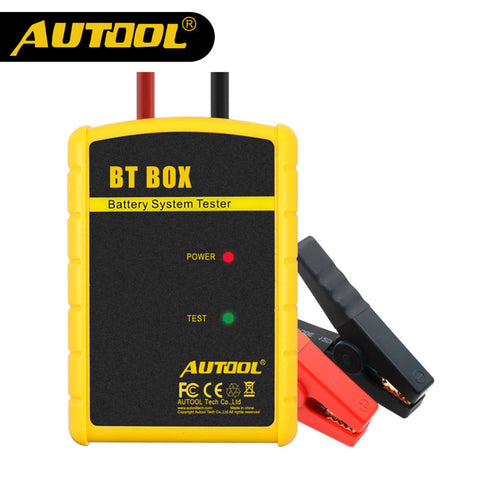 AUTOOL BT BOX Wireless Battery Tester Phone Connected 12V Vihcle Charge Cranking Analyzer