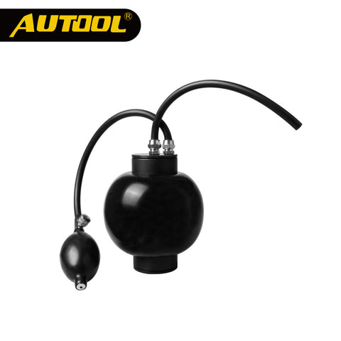 AUTOOL Universal Smoke Machine Quick Intake Adapter Intake Bladder for Smoke Leak Detector