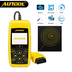 AUTOOL Code Reader Car Scanner Device Cars Maintenance Repair Tool Code Readers & Scan Meter