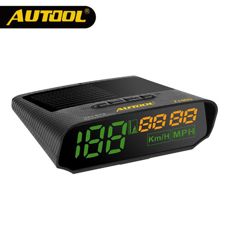Universal GPS speedometer Solar Car HUD Head Up Display Vehicle Safe Driving Over-speed Alarm AUTOOL