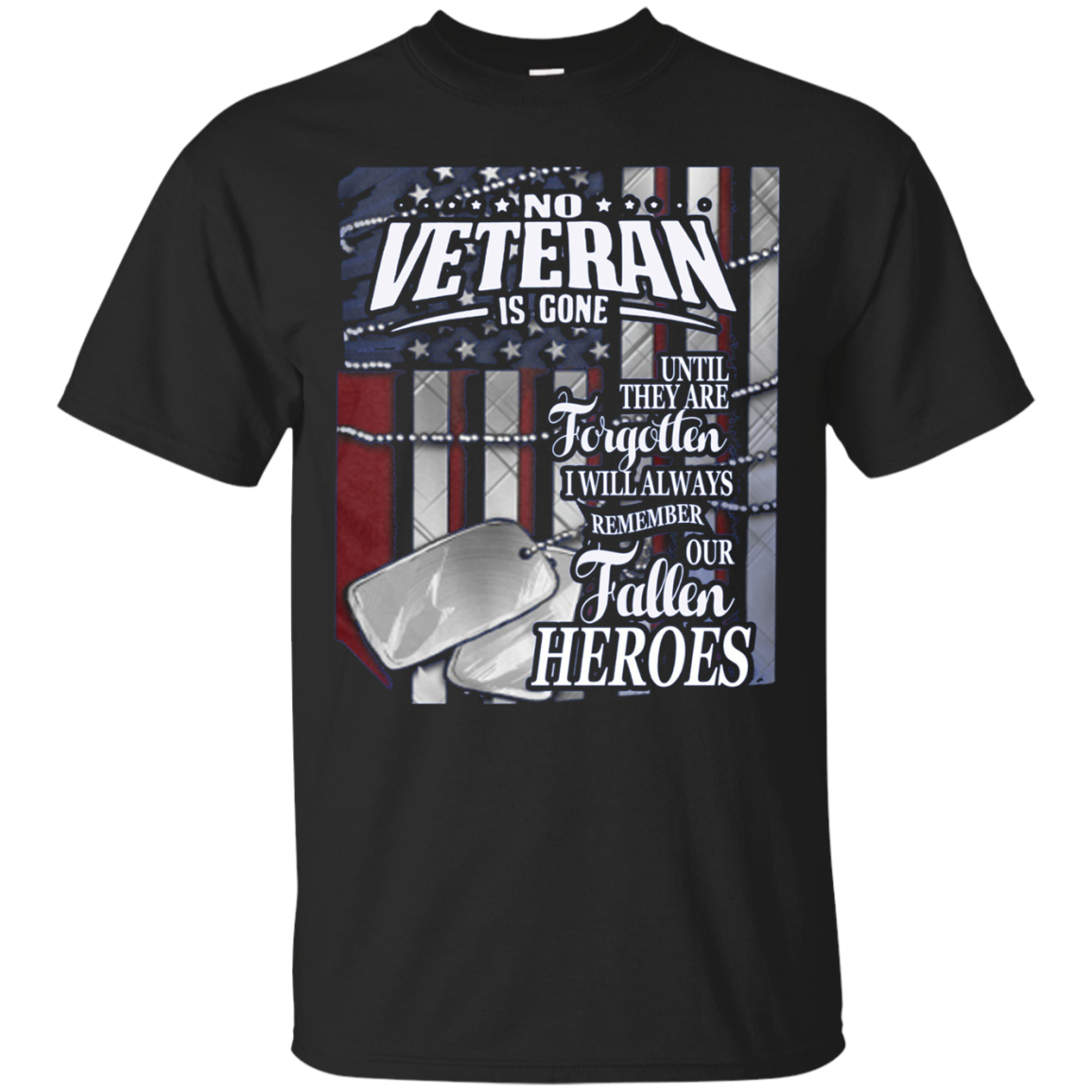 No Veteran Is Gone Until They R Forgotten Thank You Vet Ts