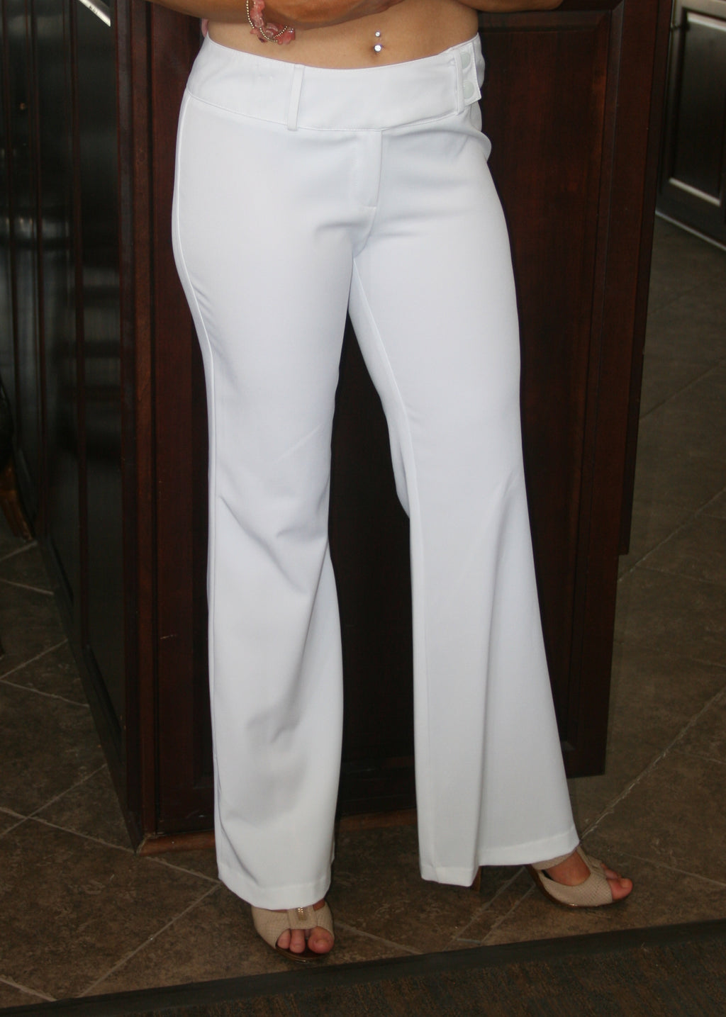 Letitia White Dress Pants