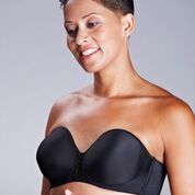 ABC 112 Seamless Strapless Mastectomy Bra (pocketed)
