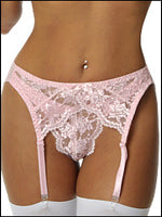 Empire Intimates 408 Lace Garter Belt