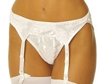 Empire Intimates 409 Sexy Jacquard Satin Garter Belt