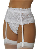 Empire Intimates 517 Carress Lace Garter Belt