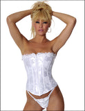 Empire Intimates 6709 Satin Jacquard Strapless Corset