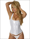 Empire Intimates 6909 Strapped Satin Jacquard Corset