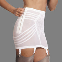Rago 1361 Open Bottom Zipper Girdle