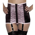 Rago 721 Satin and Lace Waist Trainer / Cincher Mediium Shaping
