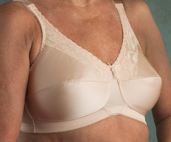 Tg Transform #600 Satin & Lace Soft Cup Bra Sizes 34DD - 48DDD