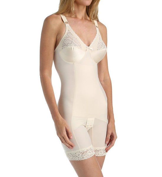 Va Bien 1292 Classic Firm Control Bodysuit with Legs and Hidden Xcross Panels