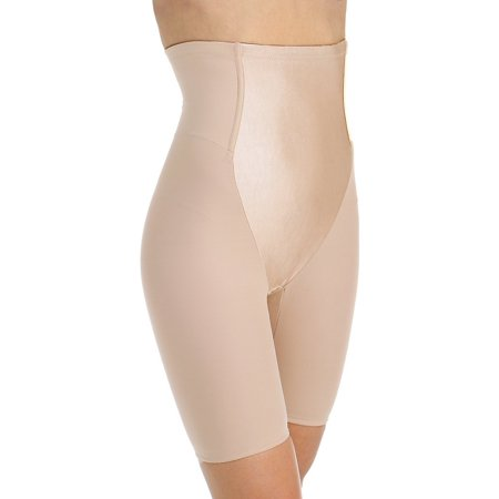 Va Bien 3575 Minus Touch Firm Control Satin Panel Hi Waist Long Leg