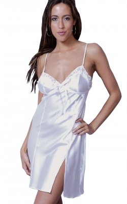Vx Intimates 4035 Charmeuse Chemise Gown