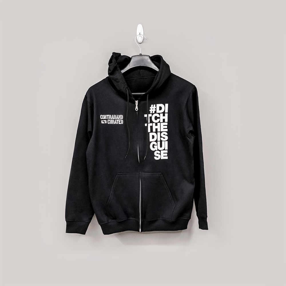 Ditch The Disguise Hoodie - Black