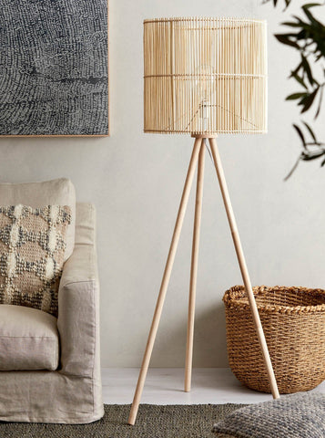 Bamboo Floor Lamps