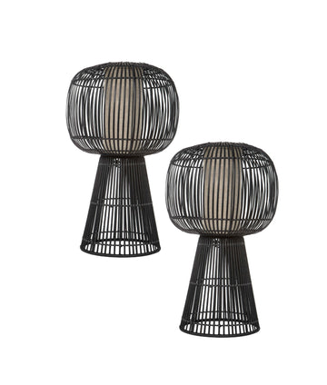 Amalfi Bungalow Table Lamp - Set of Two