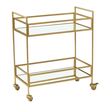 Fairmont gold drinks trolley
