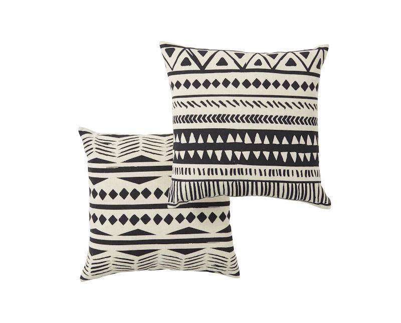 Geometric Cushions (Set of two)