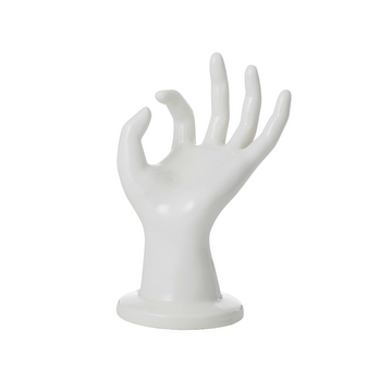 OK Ceramic Hand Trinket Holder