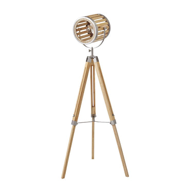 Roland Wooden Floor Lamp