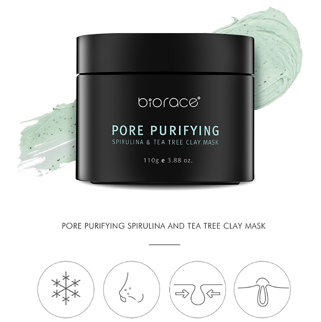 Pore-Purifying Spirulina and Tea Tree Clay Mask