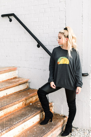 EVERYDAY IS TACO TUESDAY PULLOVER