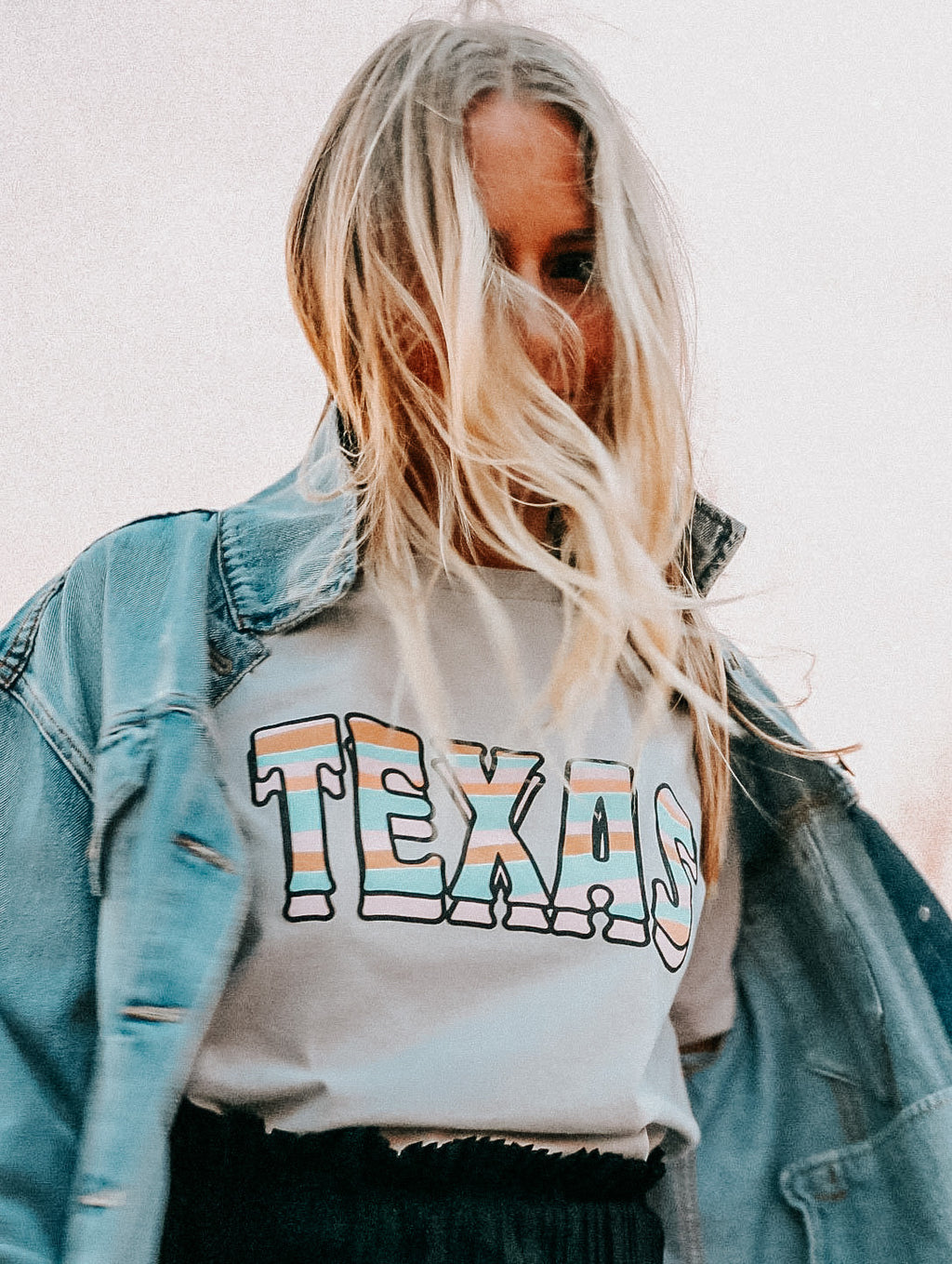 SUNSET TEXAS TEE