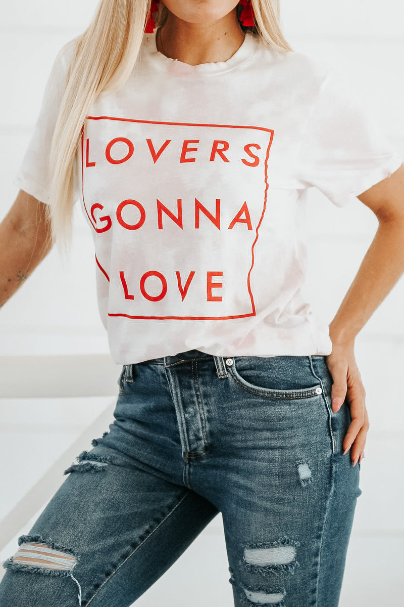 LOVERS GONNA LOVE TEE