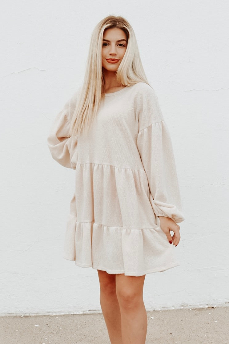 CLOUD NINE SWEATER DRESS