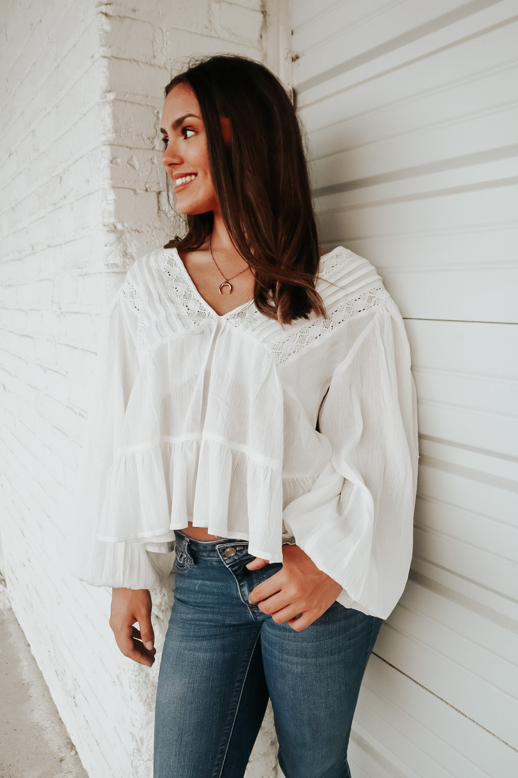 BOHO DREAMS TOP WHITE