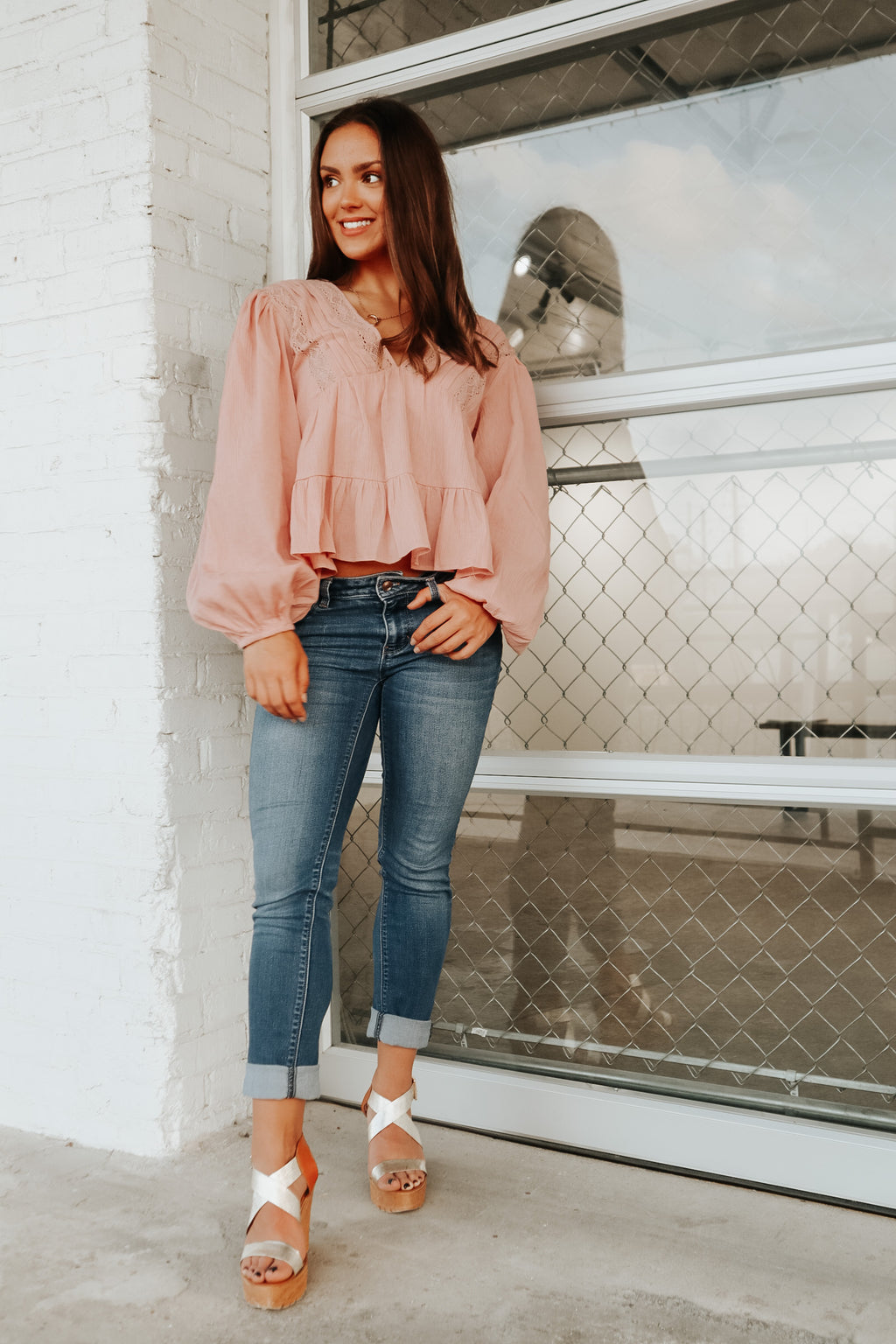 BOHO DREAMS TOP BLUSH