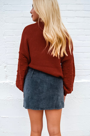 FOREVER YOUNG CORDUROY SKIRT