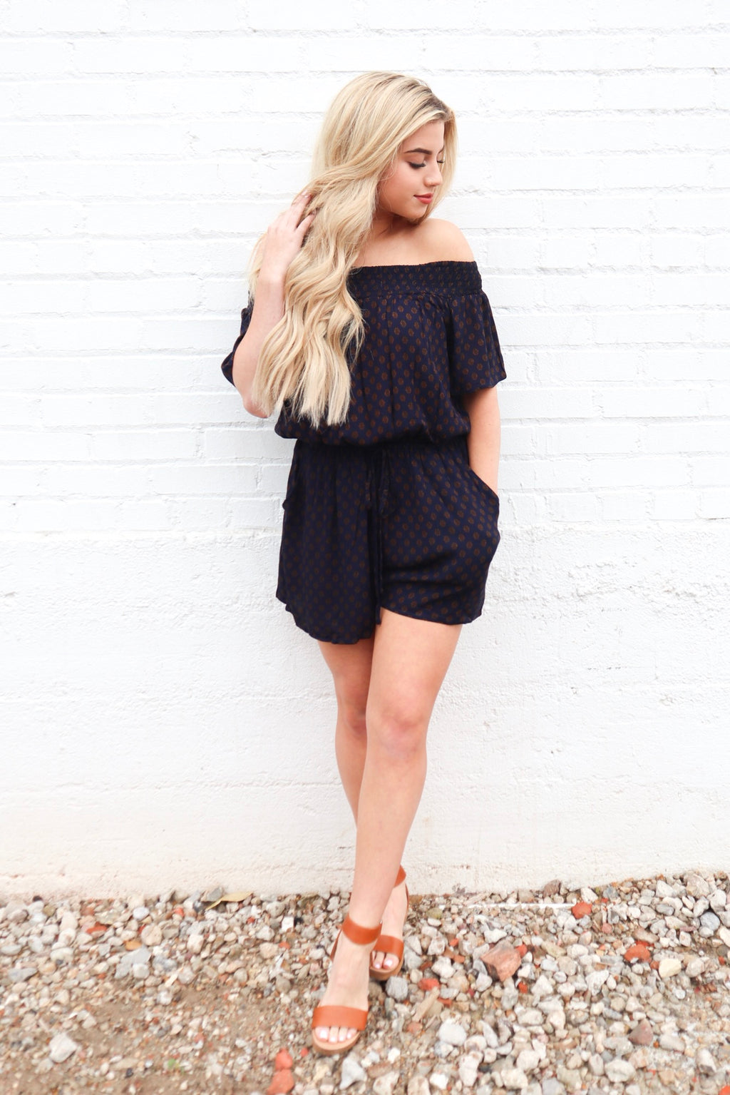 UNTIL TOMORROW ROMPER