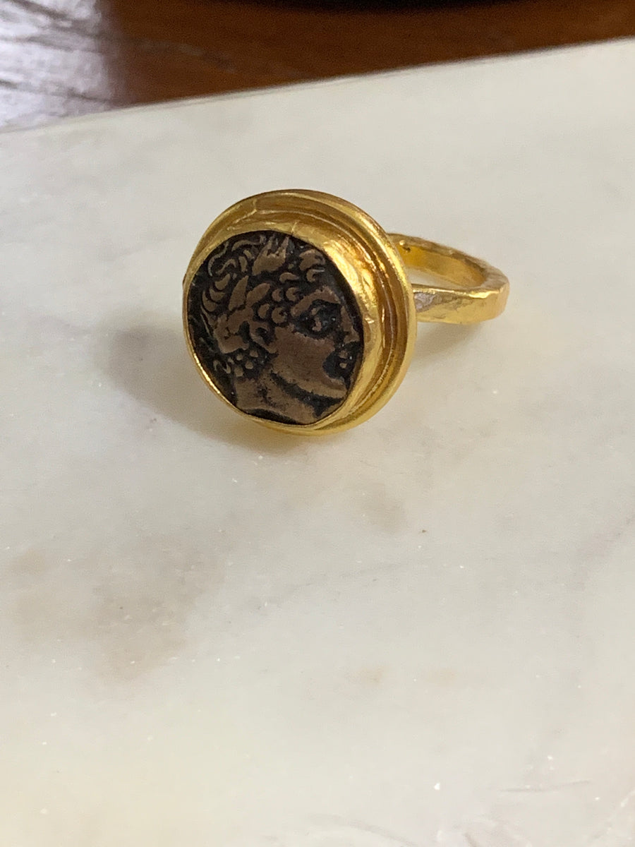 Small Coin Ring (Alexander the Great)