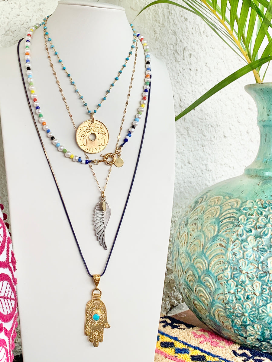 Ammoudiá Necklace (Sandy beach Necklace)