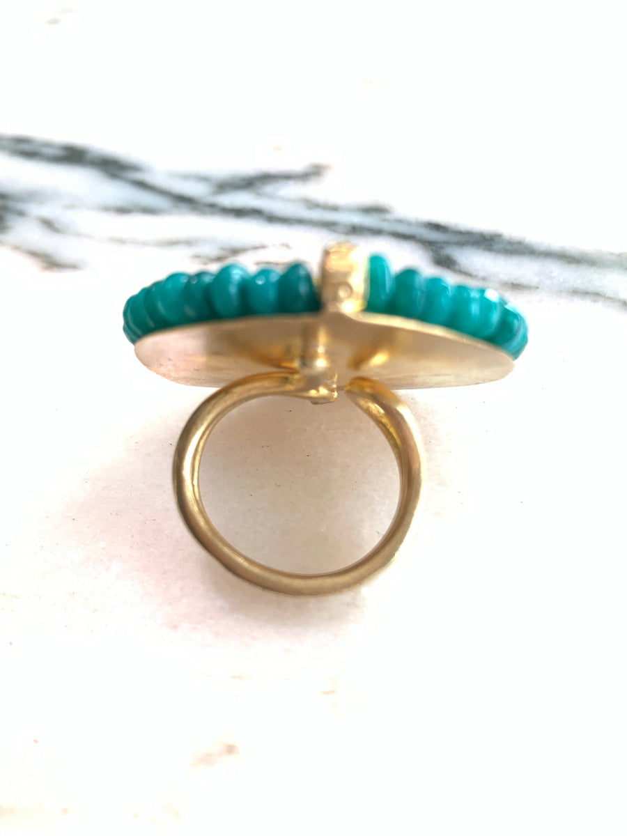 Antique Greek Coin Ring*