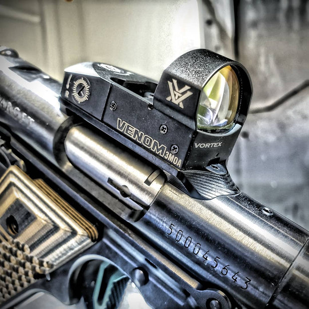 Lobos Industries Low Profile Red-Dot Mount, Ruger Mark Series, for Vortex Venom & Burris Fast Fire.